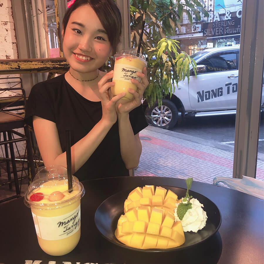 タイの人気マンゴースイーツ店「マンゴータンゴ」で絶品マンゴーに遭遇