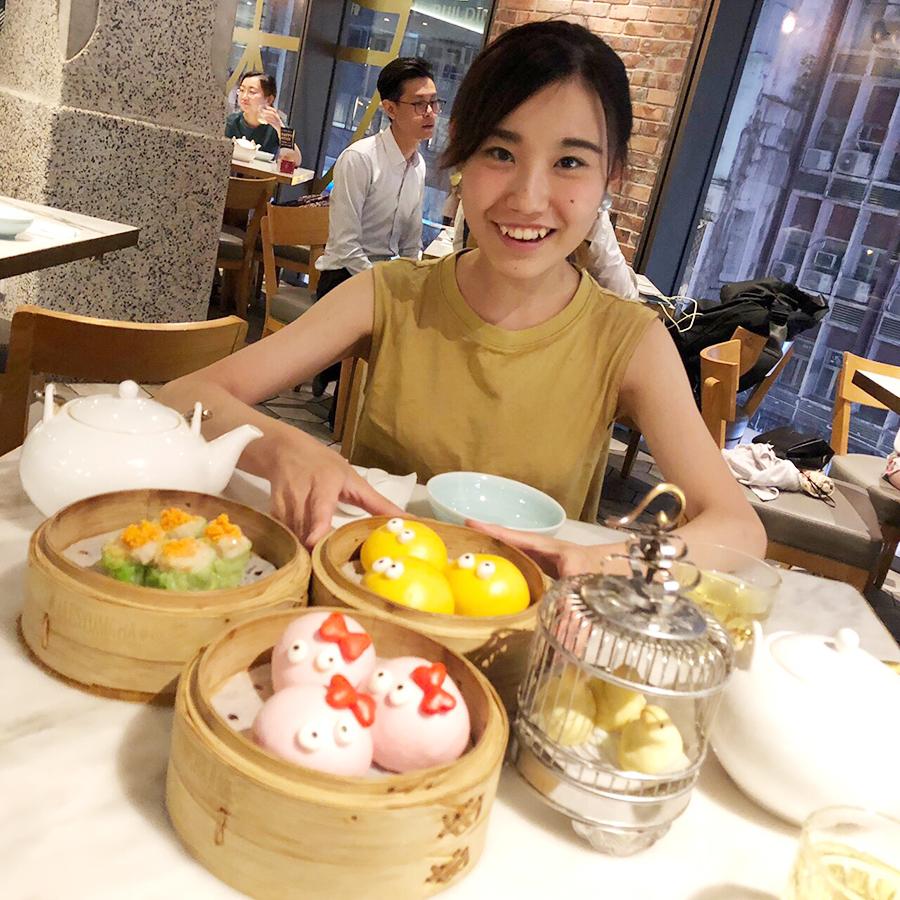 香港に行ったら必ず食べて欲しいインスタ映えする点心で有名な「YUM CHA」