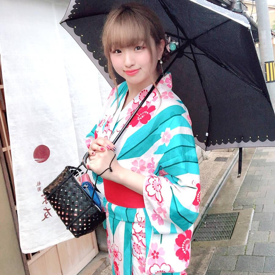 今話題のインスタ映えスポット京都の河原町を着物で散策