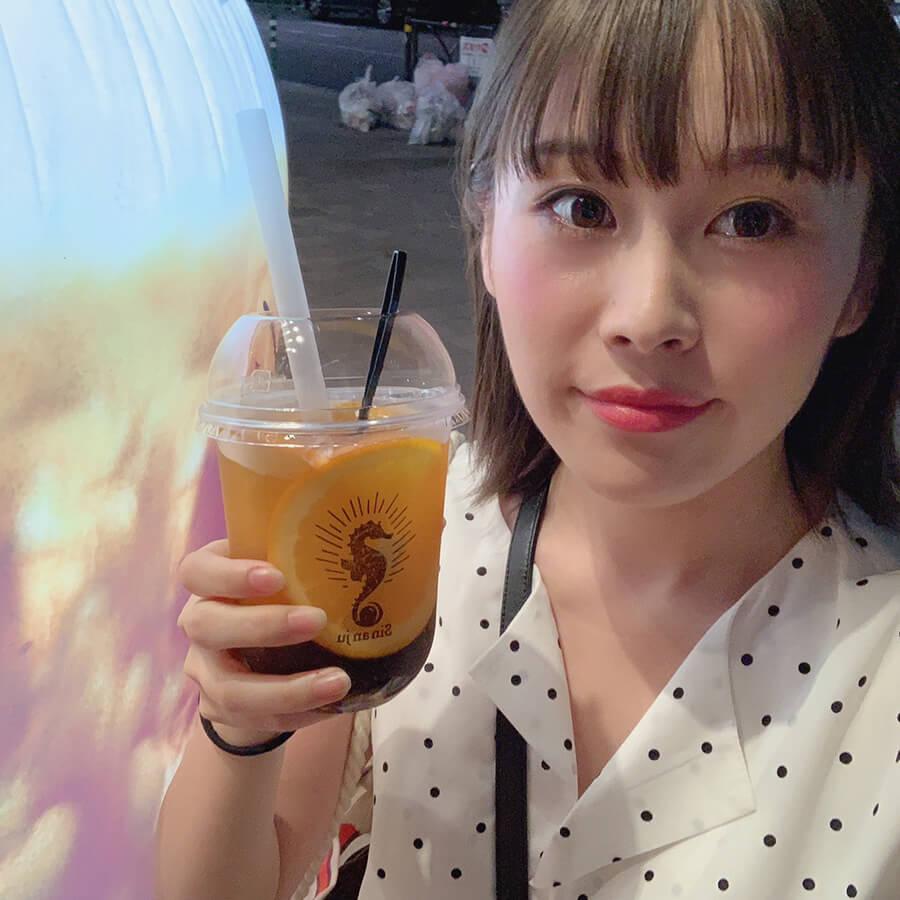 芳香な香とともに味わい深いタピオカドリンクが飲める「辰杏珠(シンアンジュ)」