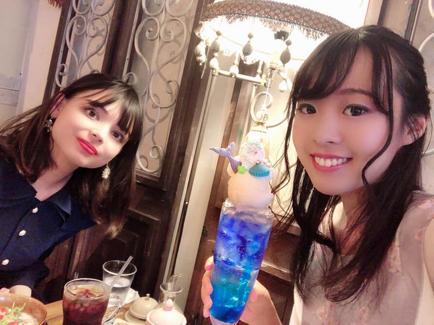 京都にあるかわいいカフェと雑貨のお店「café Cherish」で非現実的な世界を