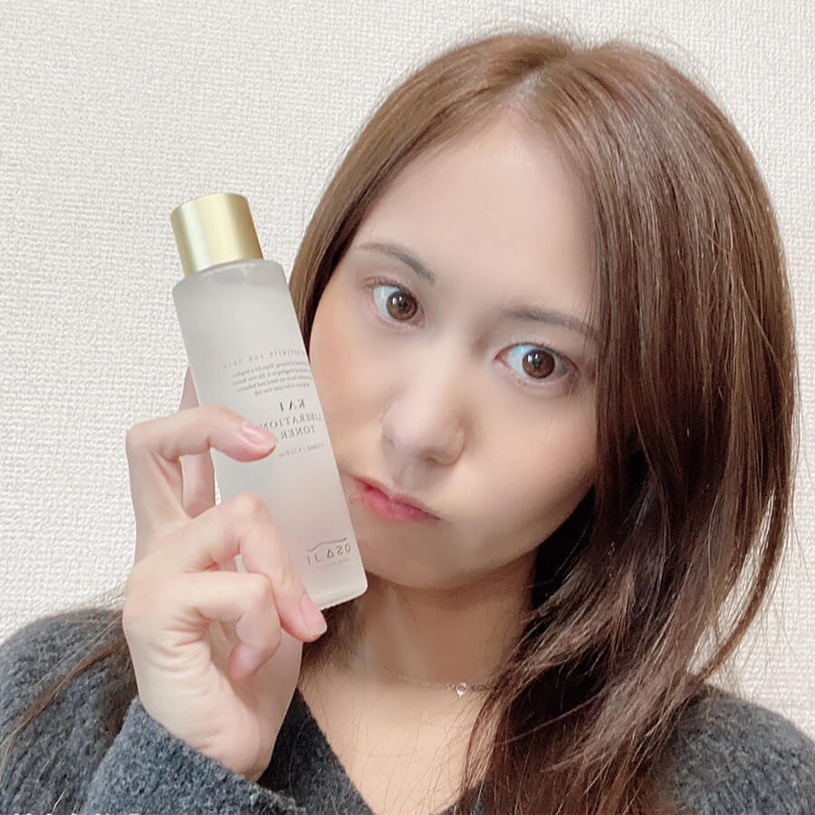 日本の敏感肌ブランド「オサジ(OSAJI)」の化粧水でうるおい肌に